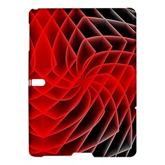 Abstract Red Art Background Digital Samsung Galaxy Tab S (10 5 ) Hardshell Case