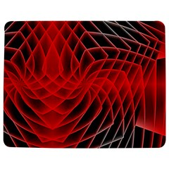 Abstract Red Art Background Digital Jigsaw Puzzle Photo Stand (rectangular)