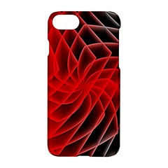 Abstract Red Art Background Digital Apple Iphone 7 Hardshell Case by Nexatart