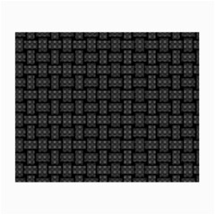 Background Weaving Black Metal Small Glasses Cloth (2 Side)