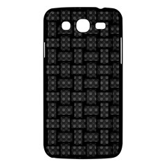 Background Weaving Black Metal Samsung Galaxy Mega 5 8 I9152 Hardshell Case