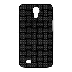 Background Weaving Black Metal Samsung Galaxy Mega 6 3  I9200 Hardshell Case