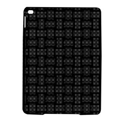 Background Weaving Black Metal Ipad Air 2 Hardshell Cases