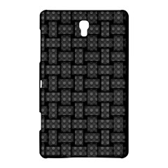 Background Weaving Black Metal Samsung Galaxy Tab S (8 4 ) Hardshell Case