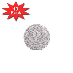 Background Wall Stone Carved White 1  Mini Magnet (10 Pack)