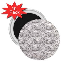Background Wall Stone Carved White 2 25  Magnets (10 Pack)