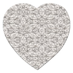 Background Wall Stone Carved White Jigsaw Puzzle (heart)