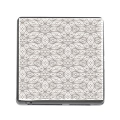 Background Wall Stone Carved White Memory Card Reader (square)