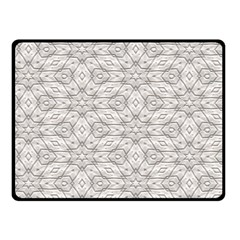 Background Wall Stone Carved White Fleece Blanket (small)