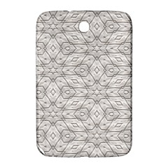 Background Wall Stone Carved White Samsung Galaxy Note 8 0 N5100 Hardshell Case