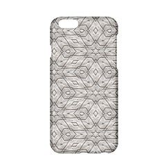 Background Wall Stone Carved White Apple Iphone 6/6s Hardshell Case