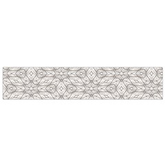 Background Wall Stone Carved White Small Flano Scarf