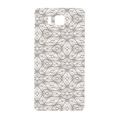 Background Wall Stone Carved White Samsung Galaxy Alpha Hardshell Back Case