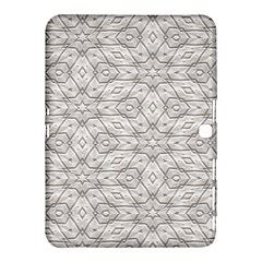 Background Wall Stone Carved White Samsung Galaxy Tab 4 (10 1 ) Hardshell Case