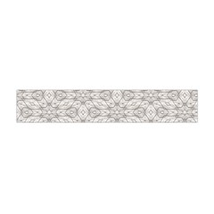 Background Wall Stone Carved White Flano Scarf (mini)