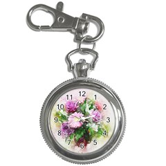 Flowers Roses Bouquet Art Nature Key Chain Watches