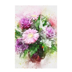 Flowers Roses Bouquet Art Nature Shower Curtain 48  X 72  (small)
