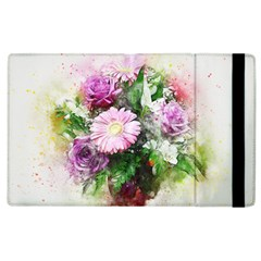 Flowers Roses Bouquet Art Nature Apple Ipad 3/4 Flip Case
