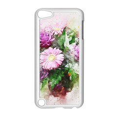 Flowers Roses Bouquet Art Nature Apple Ipod Touch 5 Case (white)