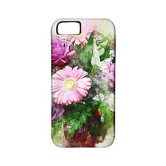 Flowers Roses Bouquet Art Nature Apple Iphone 5 Classic Hardshell Case (pc+silicone)