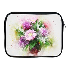 Flowers Roses Bouquet Art Nature Apple Ipad 2/3/4 Zipper Cases