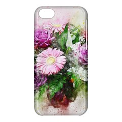 Flowers Roses Bouquet Art Nature Apple Iphone 5c Hardshell Case