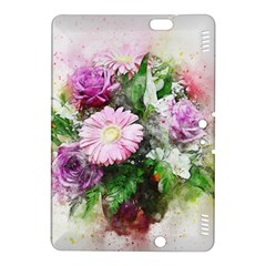 Flowers Roses Bouquet Art Nature Kindle Fire Hdx 8 9  Hardshell Case