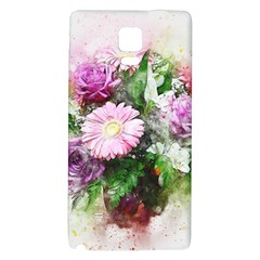 Flowers Roses Bouquet Art Nature Galaxy Note 4 Back Case