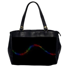 Background Light Glow Lines Colors Office Handbags