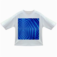 Blue Background Light Glow Abstract Art Infant/toddler T Shirts