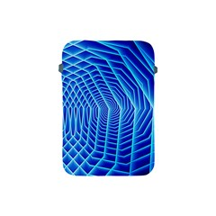 Blue Background Light Glow Abstract Art Apple Ipad Mini Protective Soft Cases
