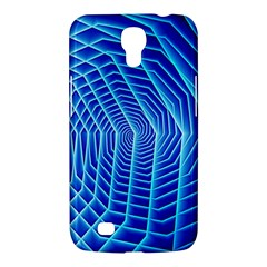 Blue Background Light Glow Abstract Art Samsung Galaxy Mega 6 3  I9200 Hardshell Case by Nexatart