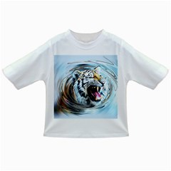 Tiger Animal Art Swirl Decorative Infant/toddler T Shirts
