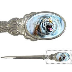Tiger Animal Art Swirl Decorative Letter Openers