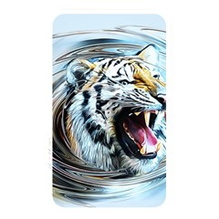 Tiger Animal Art Swirl Decorative Memory Card Reader