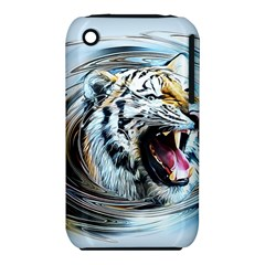 Tiger Animal Art Swirl Decorative Iphone 3s/3gs