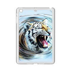 Tiger Animal Art Swirl Decorative Ipad Mini 2 Enamel Coated Cases