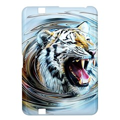 Tiger Animal Art Swirl Decorative Kindle Fire Hd 8 9