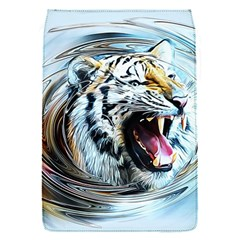 Tiger Animal Art Swirl Decorative Flap Covers (s)