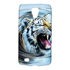 Tiger Animal Art Swirl Decorative Galaxy S4 Active