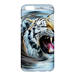 Tiger Animal Art Swirl Decorative Apple Iphone 6 Plus/6s Plus Hardshell Case