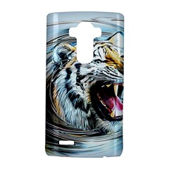 Tiger Animal Art Swirl Decorative Lg G4 Hardshell Case