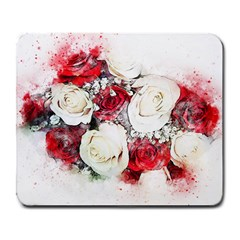 Flowers Roses Bouquet Art Nature Large Mousepads