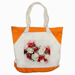 Flowers Roses Bouquet Art Nature Accent Tote Bag