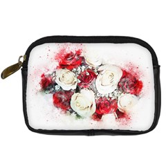 Flowers Roses Bouquet Art Nature Digital Camera Cases