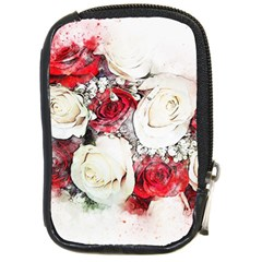 Flowers Roses Bouquet Art Nature Compact Camera Cases