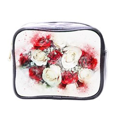 Flowers Roses Bouquet Art Nature Mini Toiletries Bags