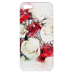 Flowers Roses Bouquet Art Nature Apple Iphone 5 Hardshell Case