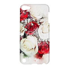 Flowers Roses Bouquet Art Nature Apple Ipod Touch 5 Hardshell Case