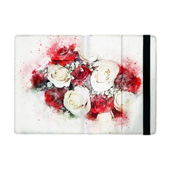 Flowers Roses Bouquet Art Nature Apple Ipad Mini Flip Case